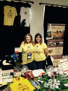 Renee and Nancy at Marshall Healthfest
